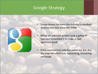 Natural Coffee Beans PowerPoint Template - Slide 10