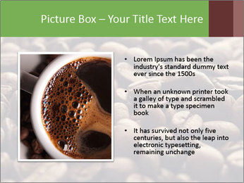 Natural Coffee Beans PowerPoint Template - Slide 13