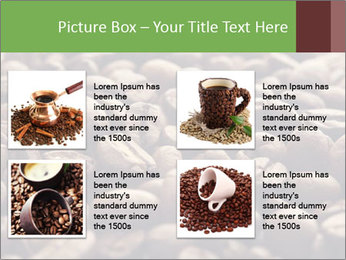 Natural Coffee Beans PowerPoint Template - Slide 14