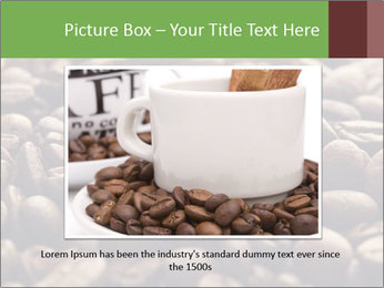 Natural Coffee Beans PowerPoint Templates - Slide 15