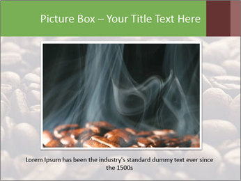 Natural Coffee Beans PowerPoint Template - Slide 16