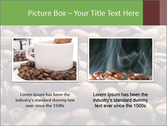 Natural Coffee Beans PowerPoint Template - Slide 18