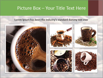 Natural Coffee Beans PowerPoint Templates - Slide 19