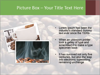Natural Coffee Beans PowerPoint Template - Slide 20