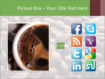 Natural Coffee Beans PowerPoint Template - Slide 21