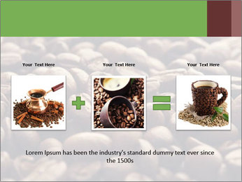 Natural Coffee Beans PowerPoint Template - Slide 22