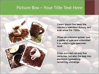 Natural Coffee Beans PowerPoint Template - Slide 23
