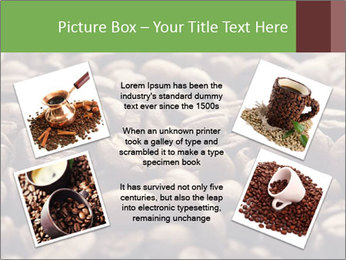 Natural Coffee Beans PowerPoint Template - Slide 24