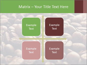 Natural Coffee Beans PowerPoint Template - Slide 37