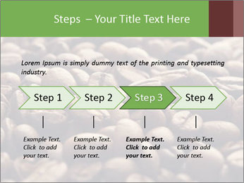 Natural Coffee Beans PowerPoint Template - Slide 4