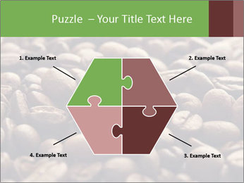 Natural Coffee Beans PowerPoint Template - Slide 40