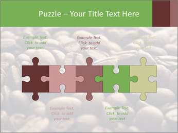 Natural Coffee Beans PowerPoint Templates - Slide 41
