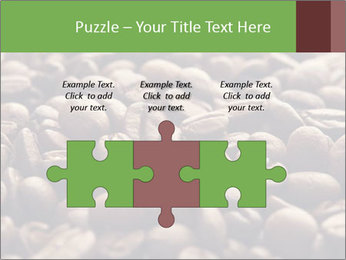 Natural Coffee Beans PowerPoint Template - Slide 42