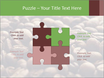 Natural Coffee Beans PowerPoint Template - Slide 43