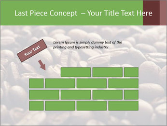 Natural Coffee Beans PowerPoint Template - Slide 46