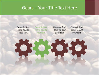 Natural Coffee Beans PowerPoint Template - Slide 48