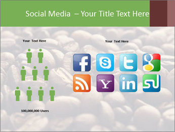 Natural Coffee Beans PowerPoint Templates - Slide 5