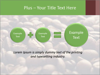 Natural Coffee Beans PowerPoint Template - Slide 75
