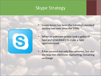 Natural Coffee Beans PowerPoint Template - Slide 8