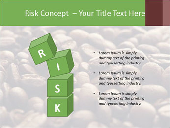 Natural Coffee Beans PowerPoint Templates - Slide 81