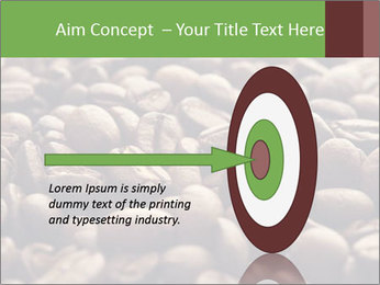 Natural Coffee Beans PowerPoint Templates - Slide 83