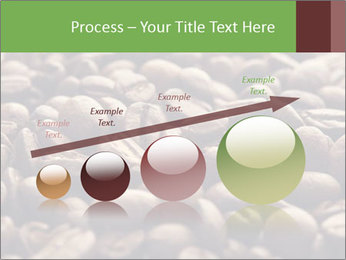 Natural Coffee Beans PowerPoint Templates - Slide 87