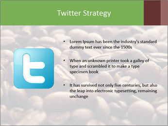 Natural Coffee Beans PowerPoint Template - Slide 9