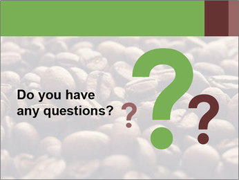 Natural Coffee Beans PowerPoint Template - Slide 96