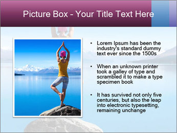 Yoga Girl PowerPoint Template - Slide 13