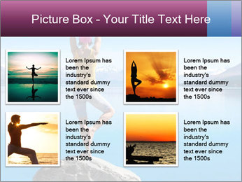 Yoga Girl PowerPoint Template - Slide 14