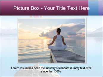Yoga Girl PowerPoint Template - Slide 16