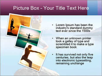 Yoga Girl PowerPoint Template - Slide 17
