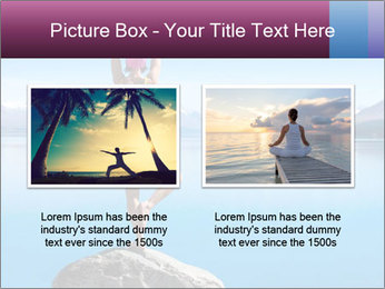 Yoga Girl PowerPoint Template - Slide 18