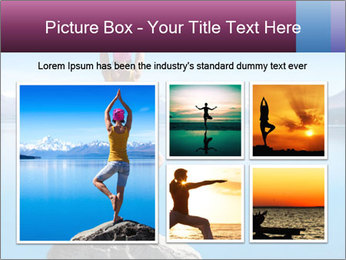Yoga Girl PowerPoint Template - Slide 19