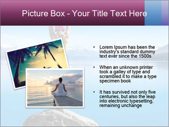 Yoga Girl PowerPoint Template - Slide 20
