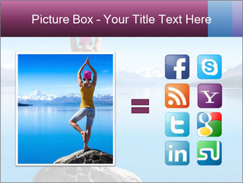 Yoga Girl PowerPoint Template - Slide 21