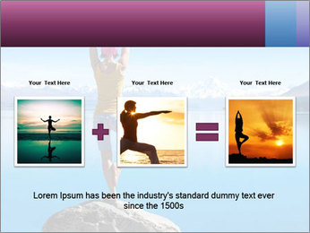Yoga Girl PowerPoint Template - Slide 22