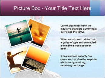 Yoga Girl PowerPoint Template - Slide 23