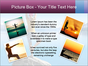 Yoga Girl PowerPoint Template - Slide 24