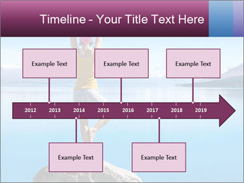 Yoga Girl PowerPoint Template - Slide 28