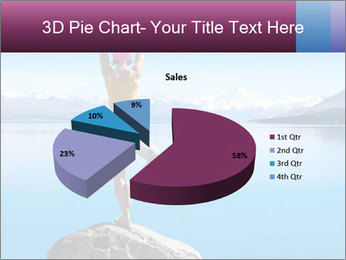 Yoga Girl PowerPoint Template - Slide 35