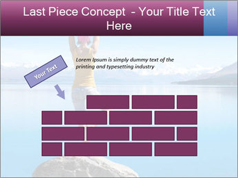 Yoga Girl PowerPoint Template - Slide 46