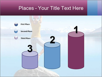 Yoga Girl PowerPoint Template - Slide 65