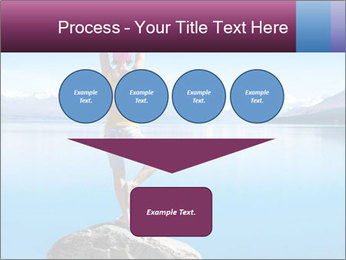 Yoga Girl PowerPoint Template - Slide 93