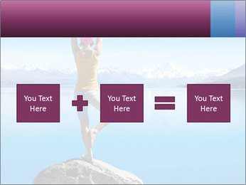 Yoga Girl PowerPoint Template - Slide 95