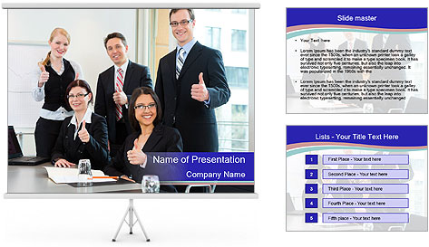 Team Of Auditors PowerPoint Template