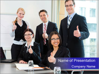 Team Of Auditors PowerPoint Template - Slide 1