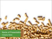 Wooden pellets PowerPoint Templates