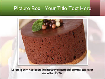Chocolate mousse PowerPoint Template - Slide 15