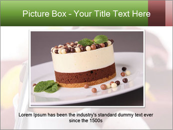 Chocolate mousse PowerPoint Template - Slide 16